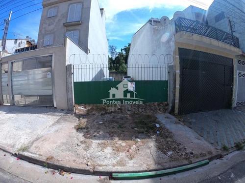 Imagem 1 de 9 de Terreno 5x25m² No Bairro Jardim Las Vegas-sa-sp - Ter056