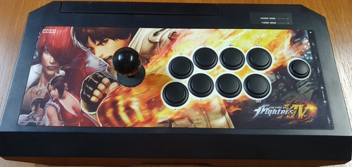 Controle Hori Real Arcade Pro 4 The King Of Fighters Playsta