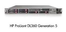 Hp Dl360 G5 2 Hds Sata 2tb Intel Xeon Quad 2,33ghz 32gb Ram