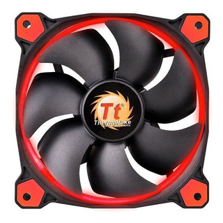 Ventilador Thermaltake Riing 12 Led Red X 5