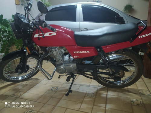 Motocicleta Honda Cg Today 125 94