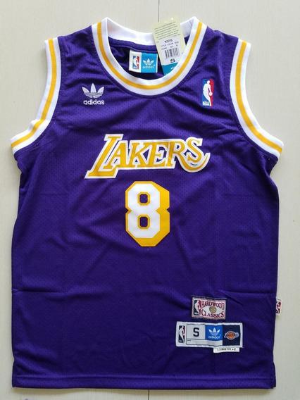 Kobe Bryant #8 #24 Nba Retro - A Pedido