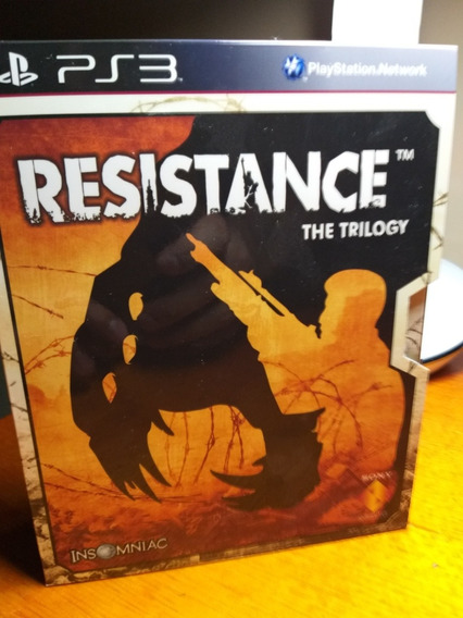 Resistance Trilogy Box Ps3 Midia Fisica