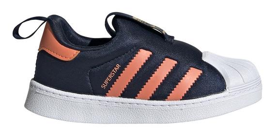 Zapatillas adidas Originals Moda Superstar 360 I Bebe Mn/na