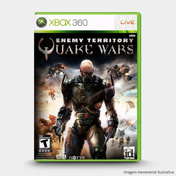 Enemy Territory Quake Wars - Original Xbox 360 - Novo