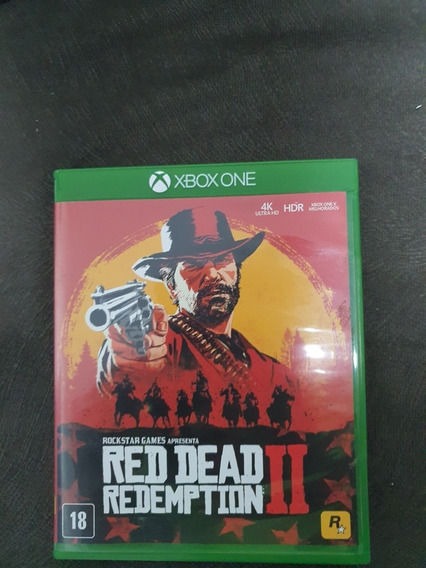 Jogo Red Dead 2 Xbox One
