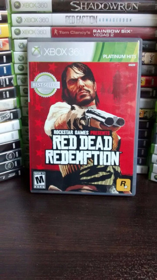 Red Dead Redemption Mídia Física Xbox360