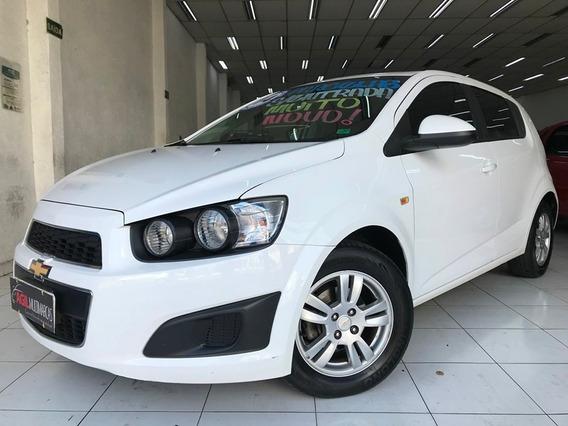 Chevrolet Sonic Lt 1.6 Flex 2014 Completo Único Dono