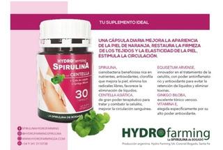Spirulina Bogado C/centella, Ginkgo B Y Cola De Caballo X 30