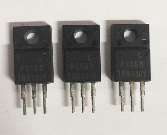 Transistor Fs5km (kit 3 Peças) Original