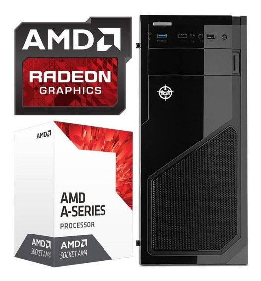 Pc Cpu Gamer Amd A8-9600 Quad-core 3.4ghz Vga Radeon R7