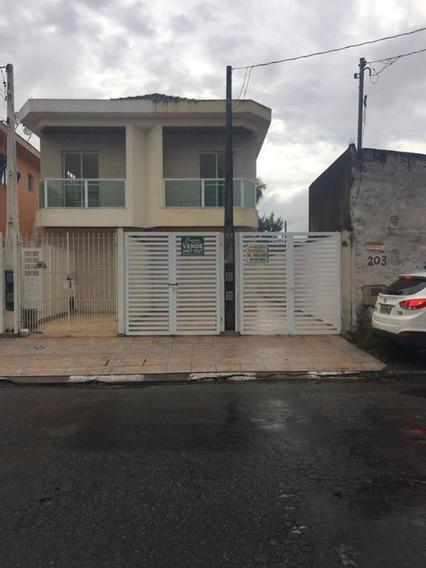 Casa Sobreposta Alta, Vila Margarida, São Vicente. - Ca0308