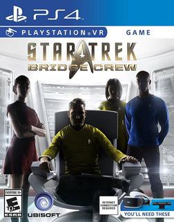 Star Trek Bridge Crew Vr Fisico Nuevo Ps4 Envio Gratis