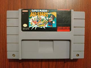 Super Mario All Stars Original Para Super Nintendo Snes