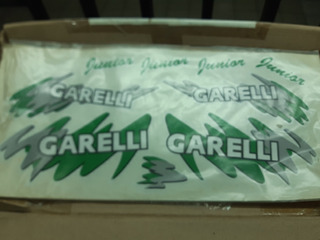 Calcos Garelli 050 Matic Verde
