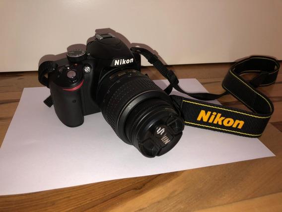 Cámara De Fotos Nikon D3200 Completa