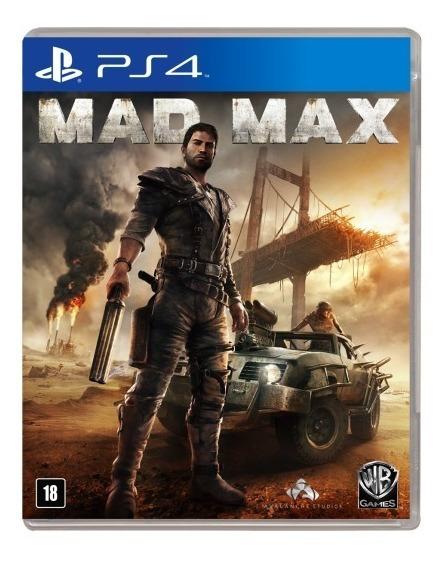 Mad Max - Ps4 - Mídia Física - Novo