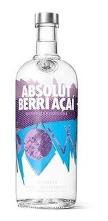 Vodka Absolut Berri Acai De Litro Envio Gratis En Caba
