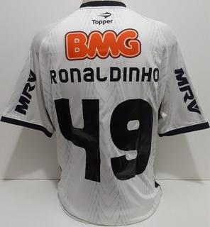 Camisa Atlético Mineiro 2012 Ronaldinho Original Topper- Rr