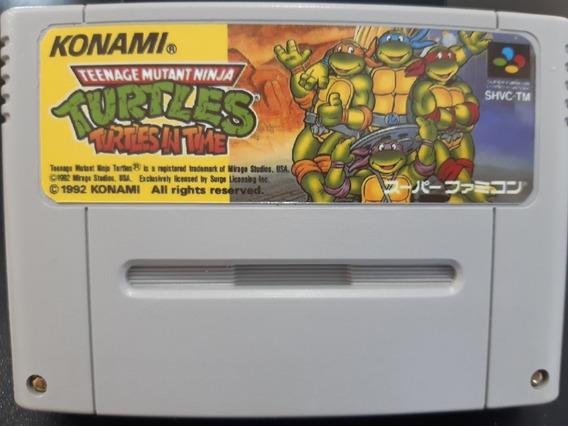 Fitas De Super Nintendo Tartaruga Ninja 4
