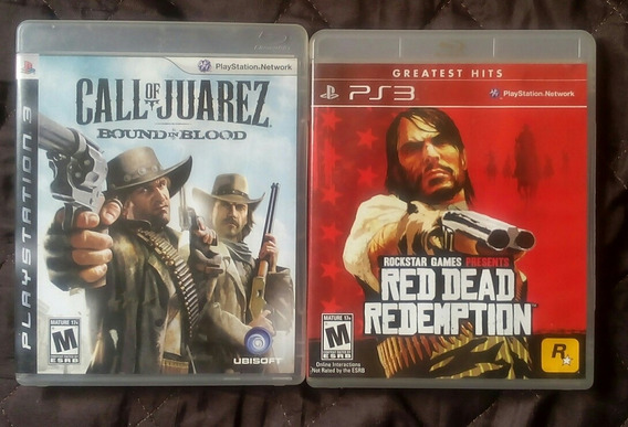 Red Dead Redemption + Call Of Juarez Para Playstation 4