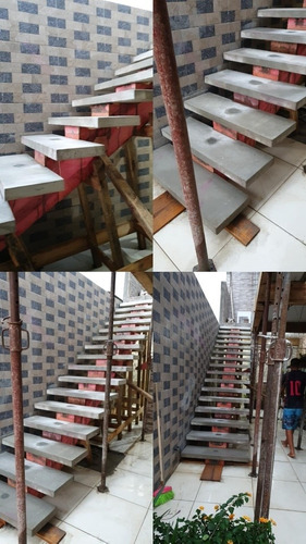 Imagem 1 de 4 de Escada Em Concreto Armado