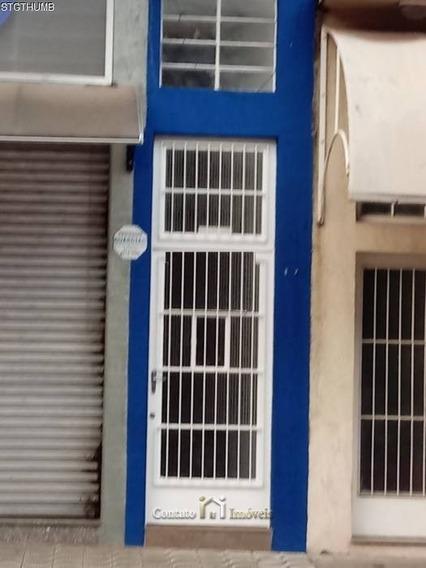 Casa Tipo Salão Comercial Para Locação No Centro - Cc0218-2