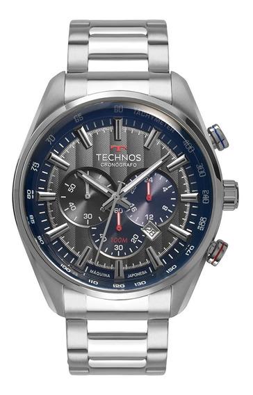 Relógio Technos Masculino Grandtech Prata Os20hmh/1c