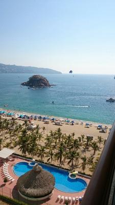 Excelente Vista Desde Piso 12. En Playa Condesa