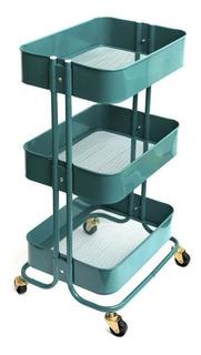 A La Cart We R Carrito Organizador Verde Con Ruedas Scrap