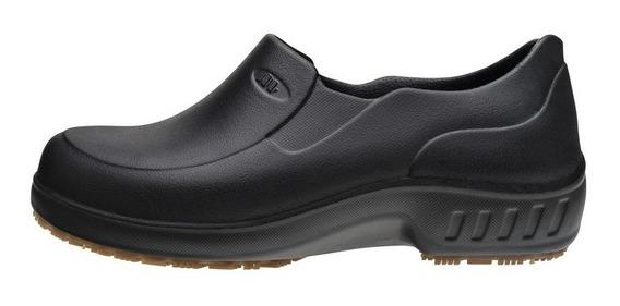 Flex Clean Sapato Borracha Feminino Trabalho 101fclean Pr