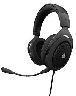 Corsair Hs50 - Auriculares Estéreo Para Juegos - Auriculares