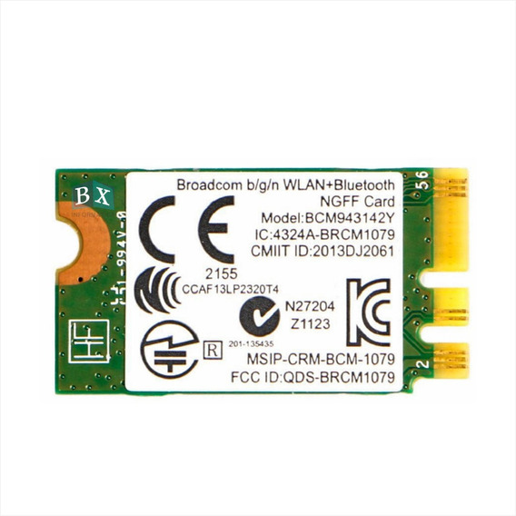 Placa Airport Wireless Hp 15 Af 15 Ac Bcm943142y