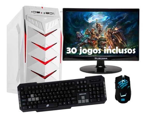 Computador Gamer Com Nota Fiscal E 30 Jogos Instalados
