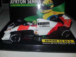 Ayrton Senna - Mclaren Campeão 1990 - 1:43 - Batida Prost
