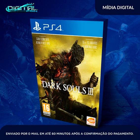 Dark Souls Iii Ps4 Psn Jogo Digital Completo Envio Imediato!