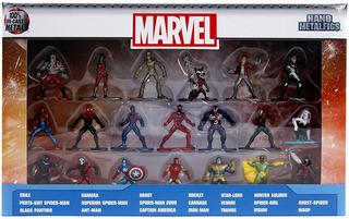 Jada Toys Marvel Nano Metalfigs 20-pack Wave 1 Die-cast