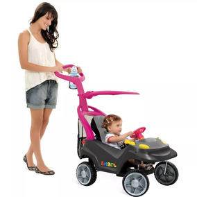 Miniveiculo Bandeirante Smart Baby Comfort 521 Rosa Grafite