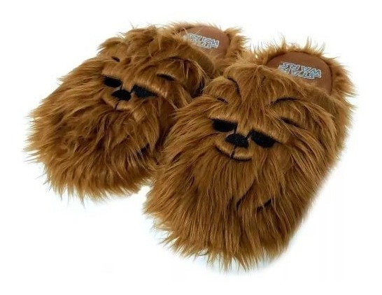 Pantufa Chinelo 3d Chewbacca - Star Wars Original - Ricsen