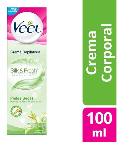Veet Crema Depilatoria Corporal 100ml Silk&fresh