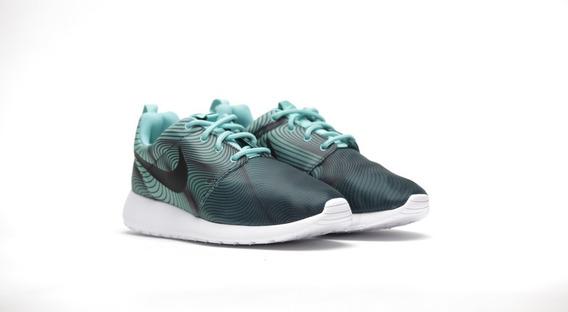 Tenis Nike Roshe One Print Mujer 844958 301 Originales