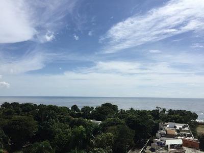 Apartamento Amueblado En Gazcue, Con Hermosa Vista Al Mar