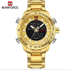 Relógio Naviforce Nf9093 Dourado