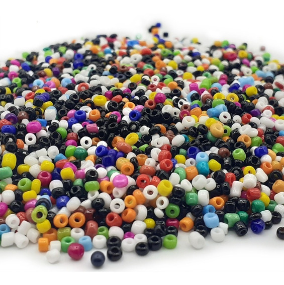 Mostacillas Collares Bijou Accesorios Colores X 500 Gramos