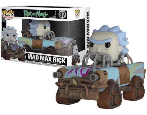 Funko Pop Rick And Morty Mad Max Rick Rides 37
