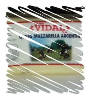 Muzzarella Vidal, Fraccionamos De Plancha, Venta Por Kg