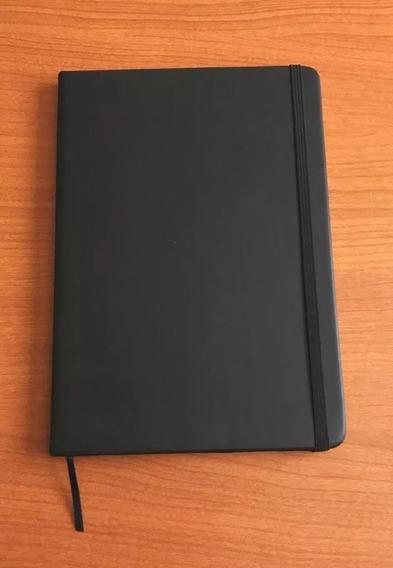 Cuaderno Libreta Anotador Tipo Moleskine 14,5x20,5 Tapa Dura