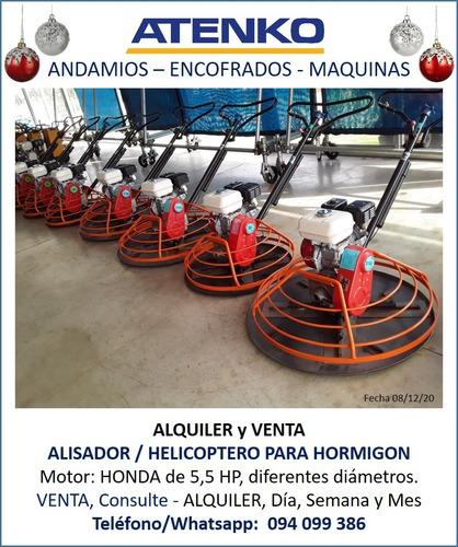 Alquiler Helicoptero Alisador De Concreto / Hormigón