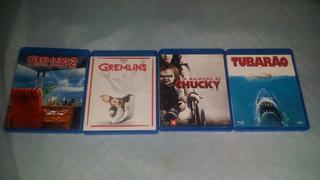 Lote 5 Blu-ray De Terror De Coleção