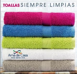 Toalla Ama De Casa Baño Jumbo 1.70x0.86 Oferta Dotacion